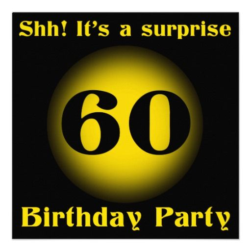 31 Best Ideas About Big Os SURPRISE 60th Birthday Party