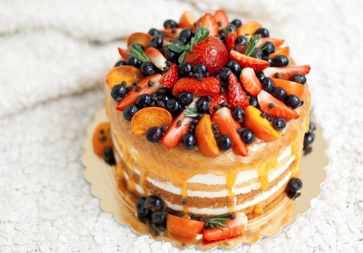 Фруктовый тортик. - Babyblog.ru