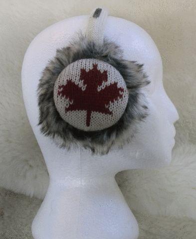 Maple Leaf Earmuffs