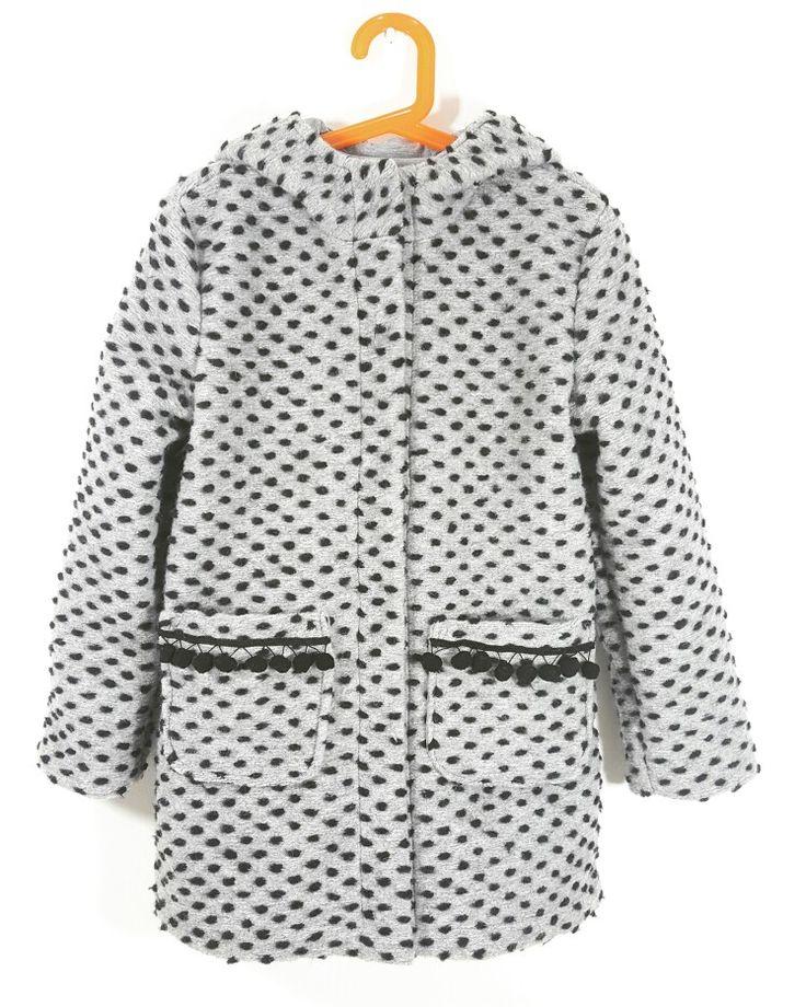 Wool coat  #płaszczzkapturem #płaszczdzieciecy #kids coat   #