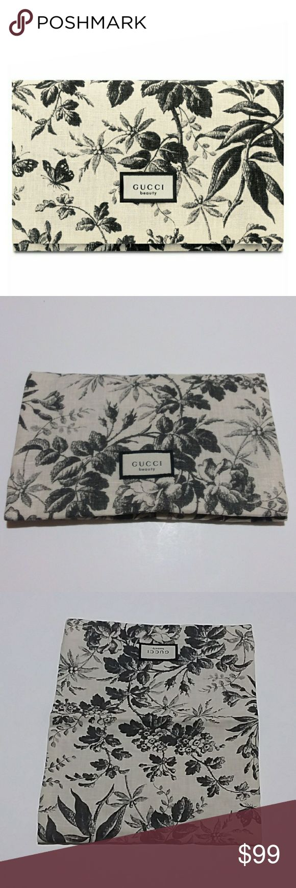 Gucci Beauty Floral Cosmetic Bag NWT Cosmetic bag