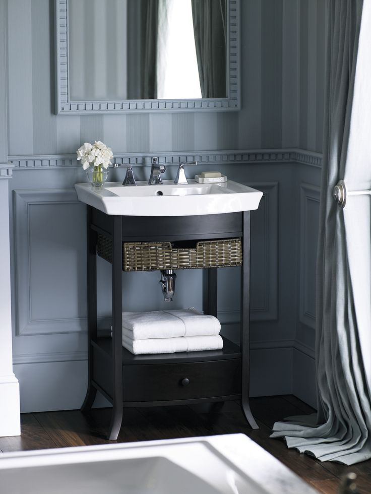 The Archer Petite Vanity From Kohler Features Transitional Aesthetic,  Blending Subtle Design Elements Found In
