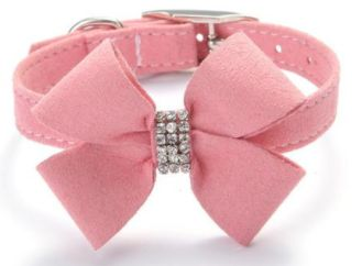 Shop24seven365! Beautiful pet collar with bow and gemstones. Spoil your puppy or kitten with this cute little present. Several colours and sizes available. To purchase visit www.shop24seven365.com.au