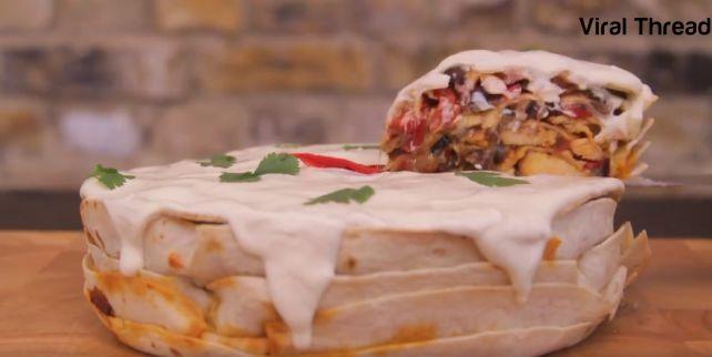The Fajita Cake
