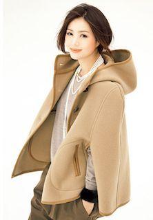 Haruka Igawa 井川遥のファッションダッフル! (Fashion wear & colors)