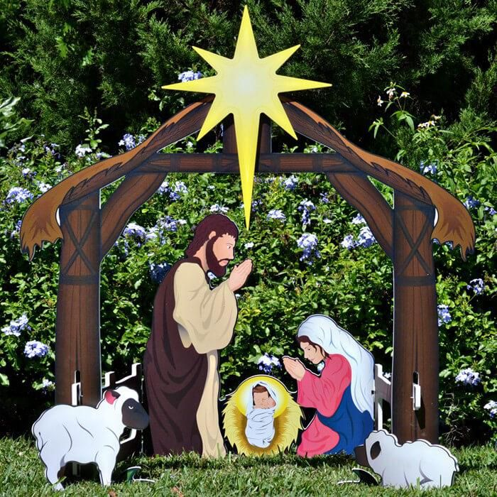 Outdoor Nativity Sets                                                                                                                                                                                 More