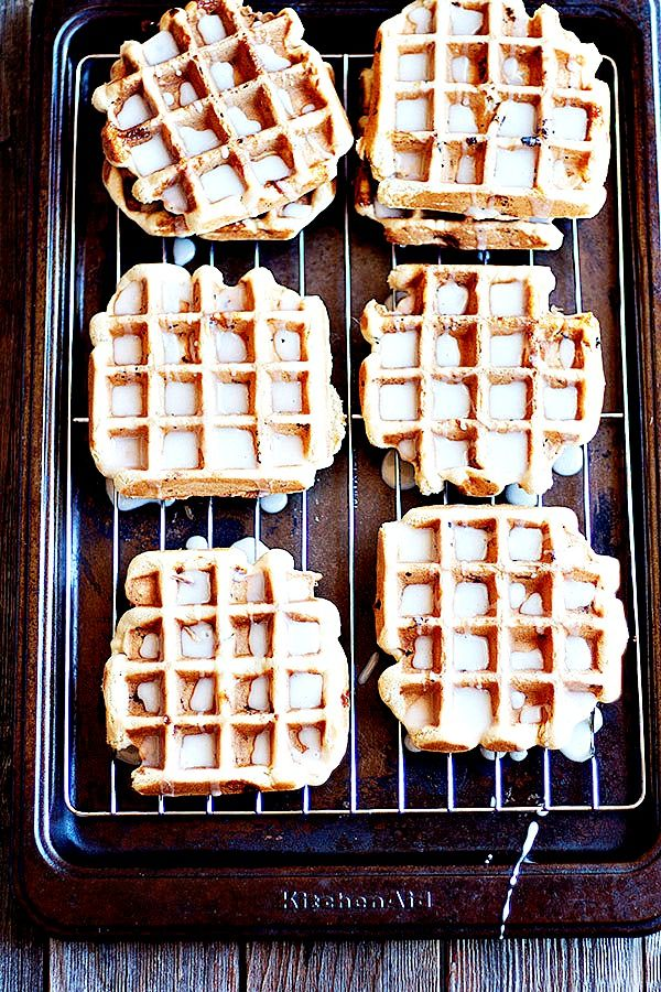 Sugar Cookie Waffles  heathersfrenchpress.com #nationalsugarcookieday