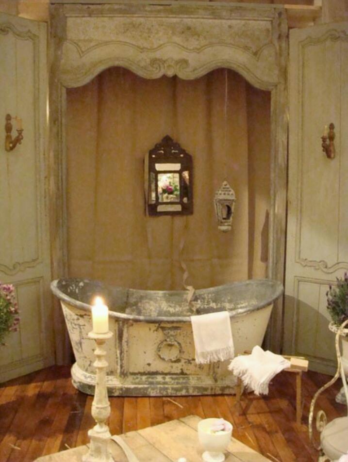 Tin Tub · Bath TubsClawfoot TubsFrench ...
