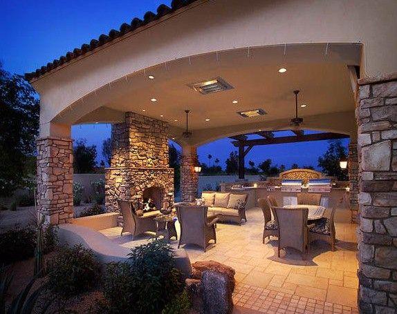 Best Covered Patio Design Ideas On Pinterest Covered Patios - Backyard covered patios