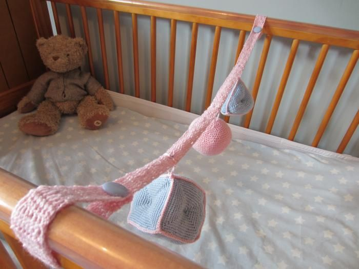 Look What Ive Made - Projects - Crochet - Baby mobile