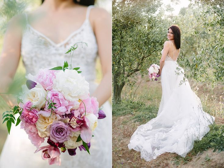 Our bride, Jana, and her stunning bouquet. Photo by Tasha Seccombe