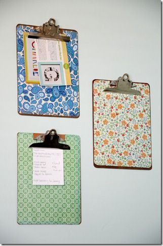 "Hang on walls in office for ""to do"" lists"