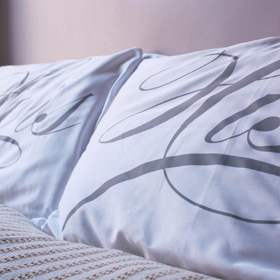 His & Hers Pillowcases