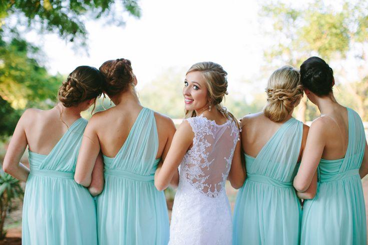Monique's rustic wedding in South Africa - Maggie Bride wore Almudena