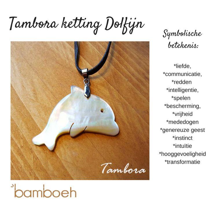 Tambora handgemaakte sieraden uit  Indonesië, van de Pinctada Maxima. https://www.bamboeh.com/dolfijn-ketting.html  #sieraden #handgemaakt #pinctadamaxima #dolfijn #ketting