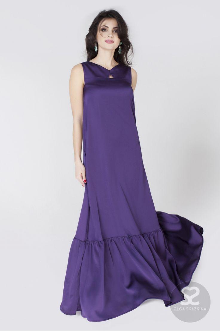 Каталог шелковое платье