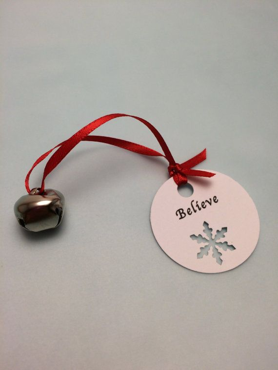 Christmas Bell Holiday Favor, Class Christmas Favor, Polar Express Bell with Believe Tag, School Favor on Etsy, $0.90