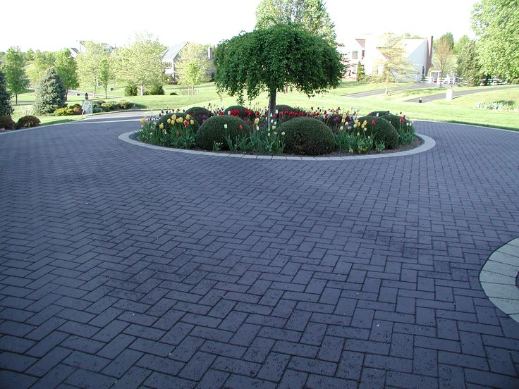 Landscaping And Decorative Stamped Asphalt Driveways Go