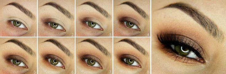 Dowiedz się jak wykonać brązowy smoky eyes. Wykonasz go przy użyciu dowolnych brązowych cieni z naszej oferty. http://www.perfumesco.pl/c/cienie-do-powiek