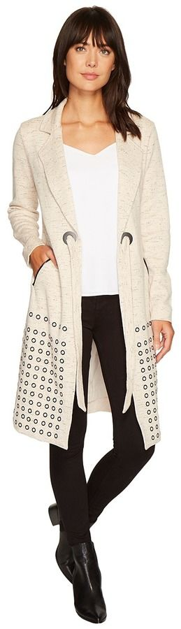 Nic+Zoe Sweet Stud Jacket Women's Sweater
