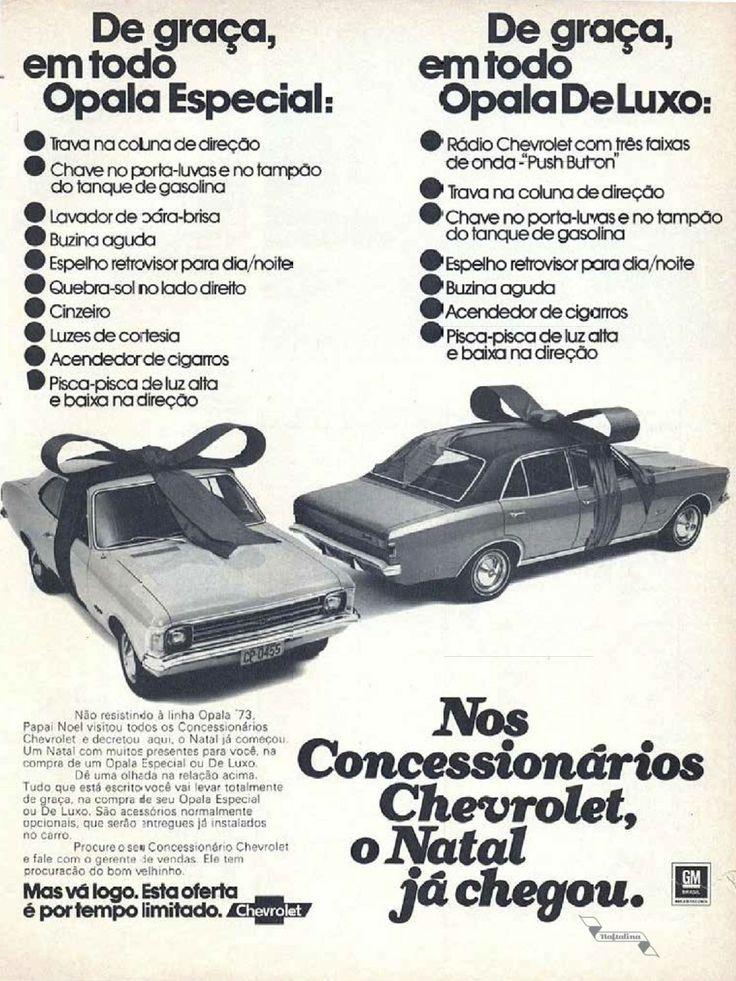 Chevrolet #Brasil #anos70 #retro #vintageads #anunciosantigos #BrasilRetro #carrosantigos