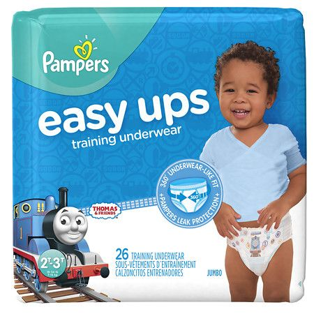 Pampers Easy Ups Training Underwear Boys Size 2T-3T - 26 ea: Easy Ups are the easiest way to underwear!… #Pharmacy #OnlinePharmacy #Health