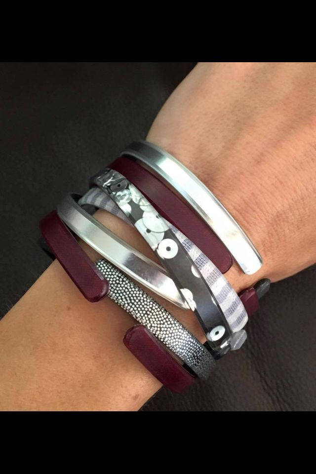 Skinnies combo maroon, midnight sky, silver sequin, silver