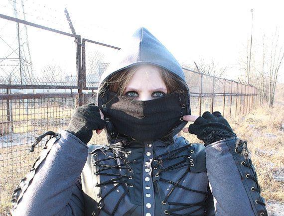 Assassin's Rock - Metal - Goth Winter Women's Jacket - S/M