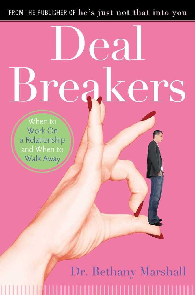 """This is a book about men. Not all men, just emotionally unhealthy men. The ones who make you question, """"Is it him or is it me? Am I making too big a deal out of this? I try to tell him how I feel, but he says I'm overreacting or needy or it's all my fault.""""Relationships are hard work, but how hard should they be? When do you know you are struggling too hard to make a relationship succeed? Deal Breakers is about getting out of this """"relationship purgatory""""—where the present is unfulfilling…"""