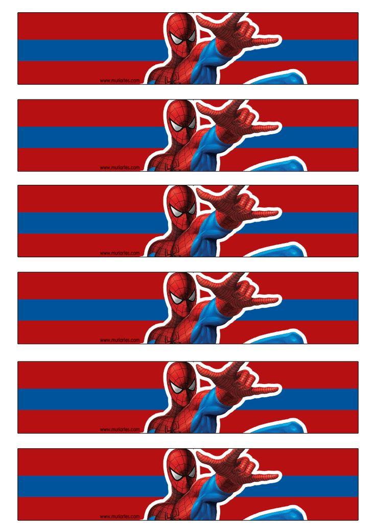 Imprimibles Spiderman
