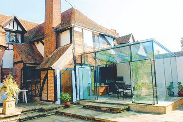 The glass extension at Great Tangley Manor, Wonersh, has won a Waverley Design Award.