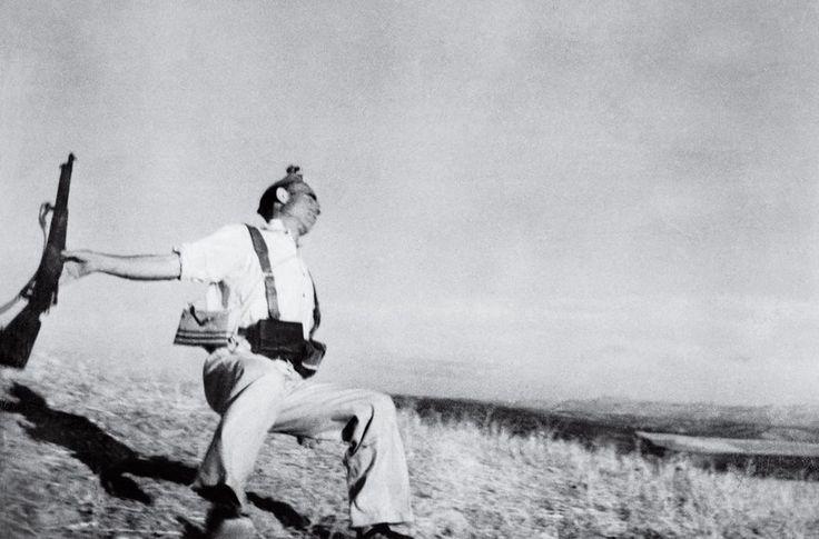 The Falling Soldier, Robert Capa, 1936