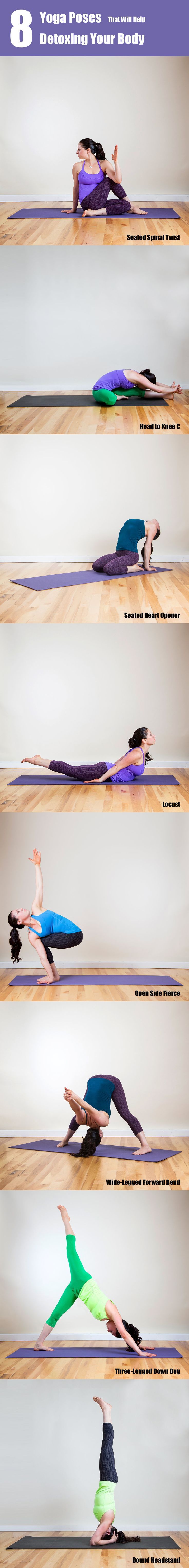 8 Yoga Poses For Beginners To Achieve A Detoxed And Healthy Body In 7 Days
