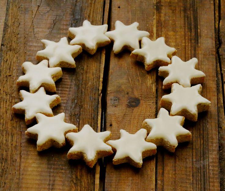 Zimsterne , étoiles à la cannelle , petits gâteaux de l'Avent   On dine chez Nanou