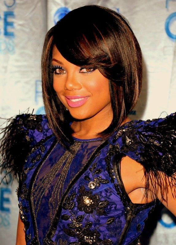 Trying to get my hair to this length.... African American Hairstyles for Women