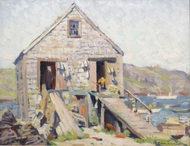 Wells Sea Side Oil Paintings On Canvas