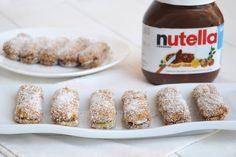 Pavesini cocco e nutella, scopri la ricetta: http://www.misya.info/ricetta/pavesini-cocco-e-nutella.htm