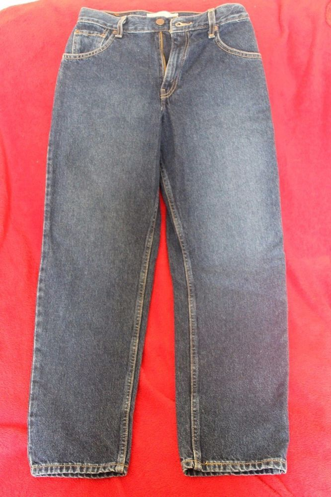 Levi Strauss Signature 100% Cotton Relaxed Fit Misses 6 Short Jeans #Levis #Relaxed