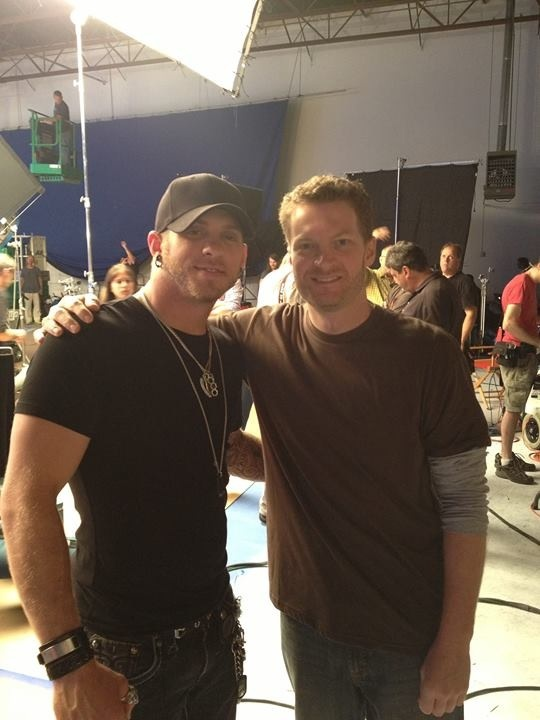 Brantley Gilbert & Dale Earnhardt Jr....  Just way to much sexiness for one picture!