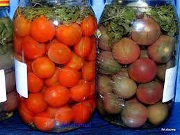 Znalezione obrazy dla zapytania Kiszone pomidory