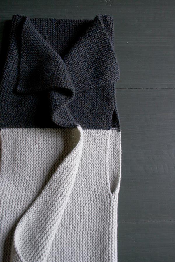 Sideways Garter Vest