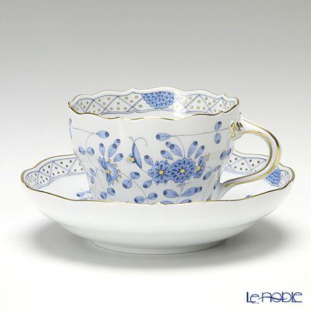 マイセン(Meissen) インドの華 ブルー 343210/00582コーヒーカップ&ソーサー 200cc