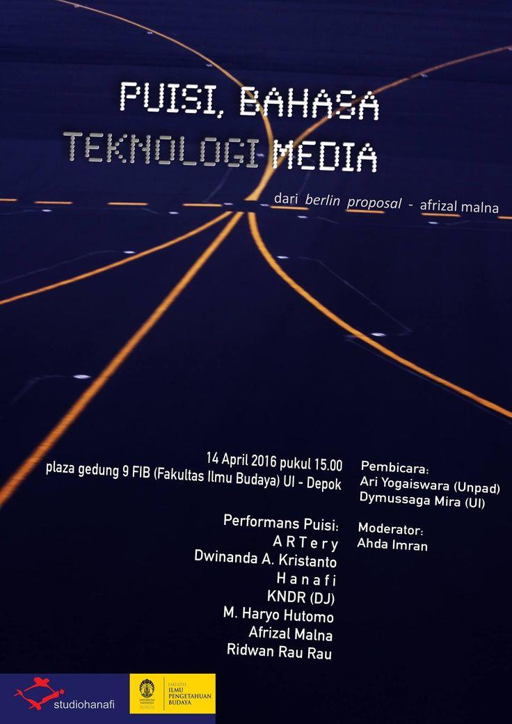 puisi bahasa teknologi media
