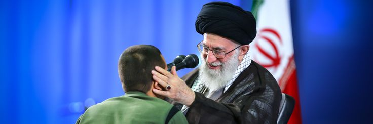 """Khamenei.ir on Twitter: """"Leader of Revolution cast his vote right after #IranElection began & in response to reporter about elections he gave some advice to people."""""""
