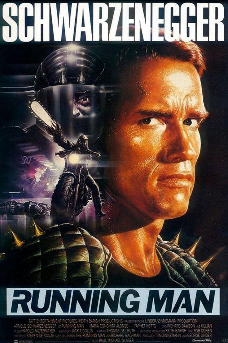 The Running Man - Película estadounidense de ciencia ficción-acción estrenada en 1987, basada levemente en la novela de Stephen King El fugitivo.
