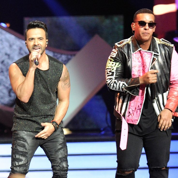 """Luis Fonsi and Daddy Yankee Performing """"Despacito"""" Video ..."""