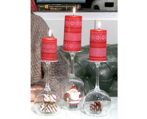 Idea muy original y los materiales se tienen en casa, decoración Low Cost asegurada.