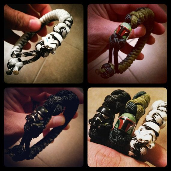 Star Wars Paracord Bracelet - Various Styles and Characters