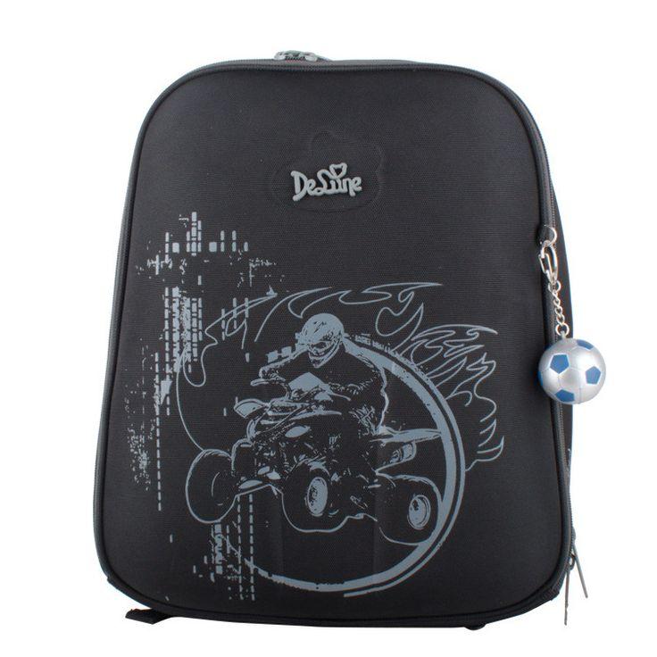 Delune 2016 cartoon children school bags for boys printed backpack children's School bag Girl Safe High Quality child Bookbag