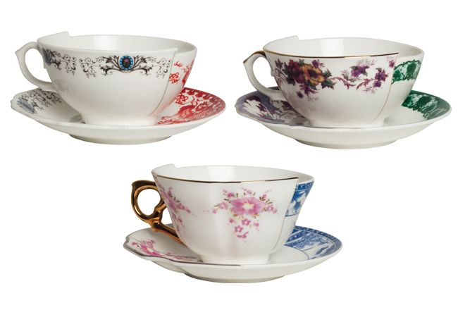 The super cool Hybrid range from bold design company Italian Seletti - my favourites are the tea cups!
